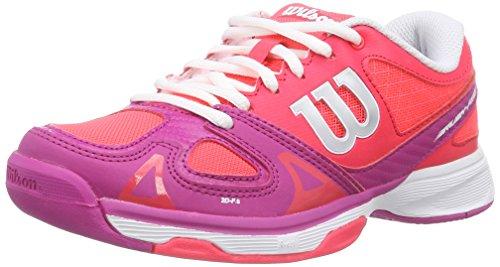 Wilson Rush Pro Jr, Zapatillas de tenis, Unisex infantil,