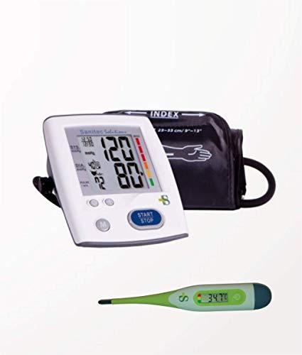 Pack Tensiómetro de Brazo + Termómetro digital flexible Sanitec