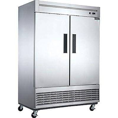 Dukers D55F 40.7 cu. ft. 2-Door Commercial Freezer