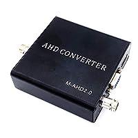 Ruzlog 簡単な設定 1080P HDMI AHD防犯カメラの映像をVGA/HDMIに変換 AHD/CVI/TVI/CVBS → HDMI/VGA/CVBS 変換器 + AHD/TVI リピーター 300m [AH001]
