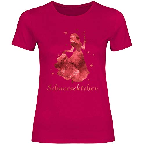 Royal Shirt Damen T-Shirt Schneesektchen, Größe:XXL, Farbe:Sorbet