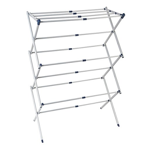 Heavy Duty Telescopic Design Stainless Steel Laundry Drying Rack by Drynatural
