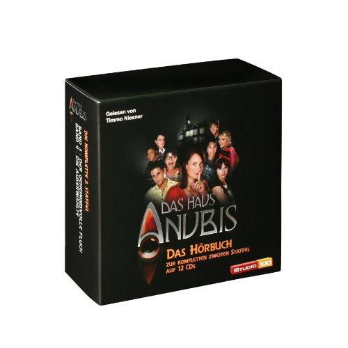 Das Haus Anubis - Das Hörbuch zur kompletten 2. Staffel
