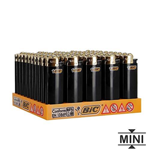 50 mini-Bic Oro encendedores de piedra