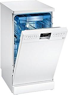 Siemens iQ500 SR256W00TE lavavajilla Independiente 10 cubiertos A++ - Lavavajillas (Independiente, Estrecho (45 cm), Blanco, Botones, 1,75 m, 1,65 m)