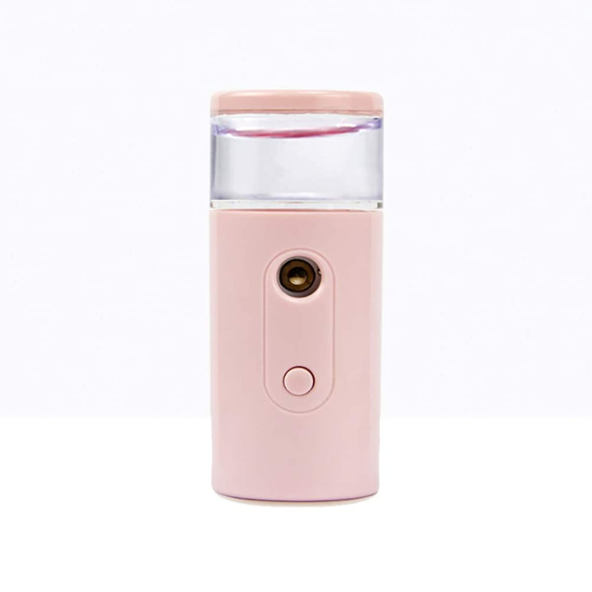 Nano Facial Mister、30ml視覚的水タンクを備えた充電式フェイシャルスチーマー、スキンケア、旅行用保湿&保湿