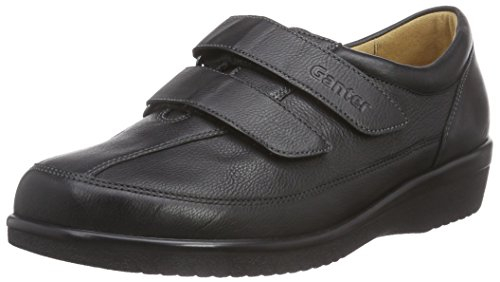 Ganter Damen SENSITIV Inge-I Slipper, Schwarz (schwarz 0100), 44 EU