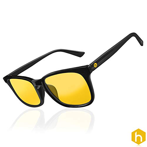 Hexagonal Advance Gaming ordenador gafas...