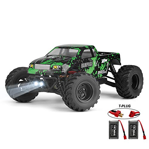 HAIBOXING 1:18 Scale All Terrain RC Car 18859E, 36 KPH High Speed 4WD Electric Vehicle with 2.4 GHz Radio Controller, Waterproof Off-Road Truck Included Battery and Charger