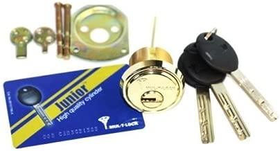 Mul-t-lock Junior Rim & Mortise Rimo Cylinder. Mul-t-lock Rim Mortise 3 Keys by Mul-T-Lock