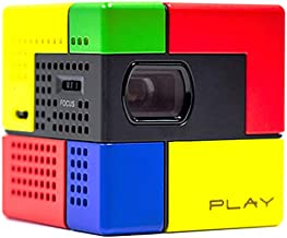 DUO Smart Beam, 1.8-inch Portable mini Projector (from cell phone or Tablet) compatible with iOS & Android - fits in your pocket (Rubix color)