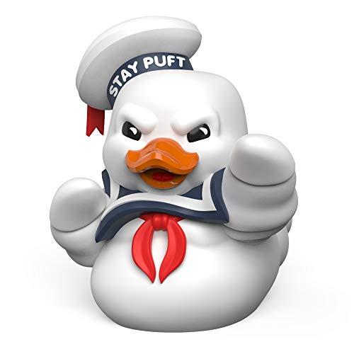 TUBBZ Pato de baño Coleccionable - Figura Tubbz Los Cazafantasmas - Figura Stay Puft, Figura Coleccionable Los Cazafantas - Producto con Licencia Oficial