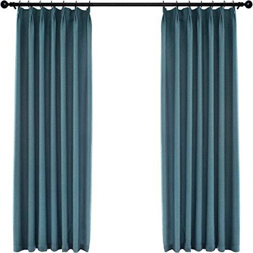 KaO0YaN Rideaux Occultants Décoration de Fenêtre Pare-Vent Nordique Moderne Simple Chambre Salon Balcon Baie vitrée Pare - Soleil Pare-Soleil, 150, A