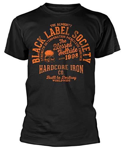 Black Label Society 'Hardcore Hellride' (Black) T-Shirt (Medium)