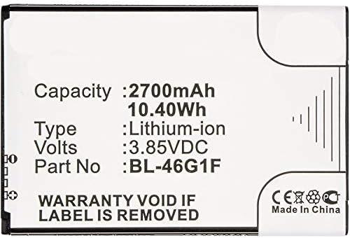 Synergy Popular standard Digital New mail order Cell Phone Battery Works with LG Pho K20 V