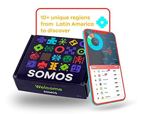 SOMOS Ancestria Genetic Ancestry DNA Test Kit, Global...