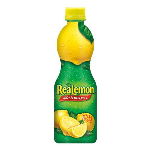 ReaLemon 100% Lemon Juice, 8 Fluid Ounce Bottle