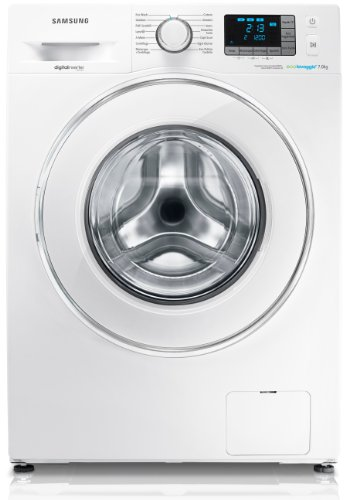 Samsung WF70F5E5U2W Lavatrice Libera installazione Caricamento frontale 7kg 1200Giri/min A+++ Bianco