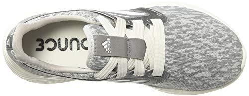 adidas Women's Edge Lux 3 Running Shoe, grey/cloud white/silver metallic, 8.5 M US 7