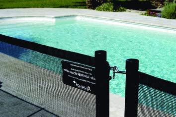 Barrière De Protection Piscine - Module Complet 3,2m -...