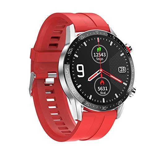 RCH L13 Smart Watch GT05 ECG De Los Hombres + PPG Impermeable Bluetooth Llamada Moda Pulsera Pulsera Presión Arterial Fitness Smartwatch PK L7 para Android iOS,F