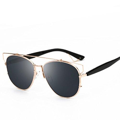 Embryform Gafas de Sol - Gafas Unisex Redondas UV400