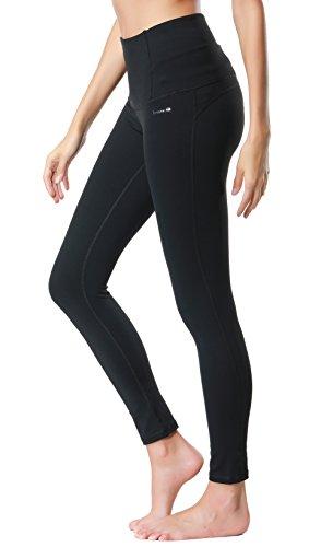Dragon Fit Compression Yoga Pants Power Stretch Workout Leggings With High Waist Tummy Control, 02black, Medium