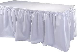 Phoenix 17-1/2 英尺桌裙,衬衫,白色