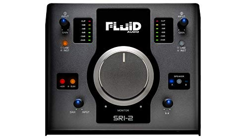 Fluid Audio SRI-2 USB Audio Interface & Monitor Controller