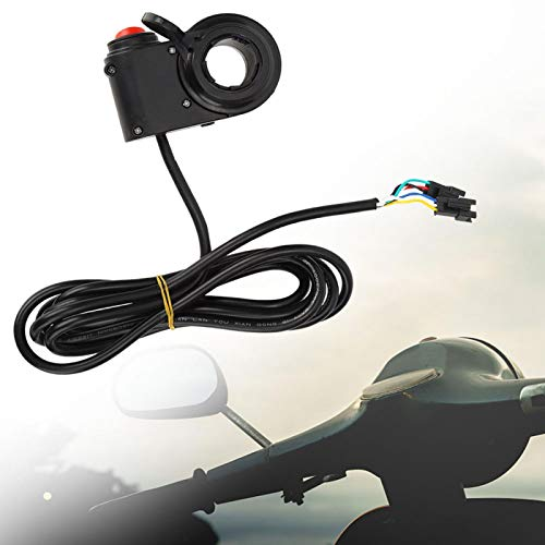 DAUERHAFT Scooters eléctricos Acelerador Scooters eléctricos Empuñadura del Acelerador Juzgando la avería Scooters eléctricos Acelerador de Pulgar, para E-Scooters