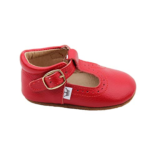 Top 10 best selling list for t bar flat shoes red
