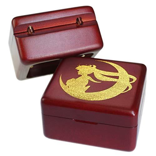 Handmade Wooden Sailor Moon Music box birthday Gift For Christmas/Birthday boxs Music Boxes