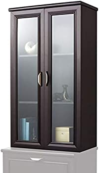 Realspace Magellan Collection 2-Shelf Hutch With Doors