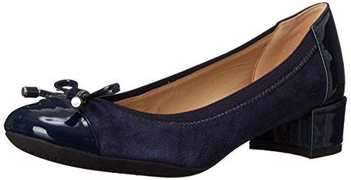 Geox Damen D Carey A Pumps, Blau (NAVYC4002), 36 EU