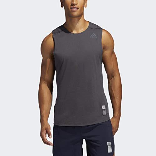 adidas Men's Primeblue Singlet Dgh Solid Gray X-Large