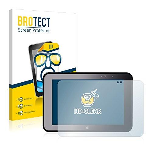 BROTECT Schutzfolie kompatibel mit Pokini Tab A10 (2 Stück) klare Bildschirmschutz-Folie