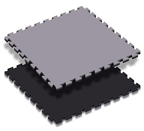 Paffen Sport Kampfsportmatten; Stück; 100 x 100 x 2 cm; schwarz/grau