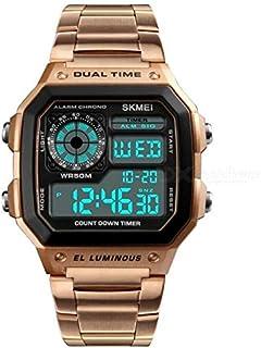 سكمي ساعة رسمية - كاجوال رجال رقمي ستانلس ستيل - 1335