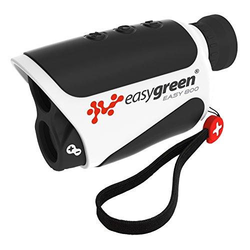 EasyGreen Easy 800, Telemetro Laser da Golf Unisex Adulto, Nero/Bianco, M