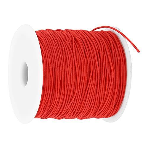 Jiawu Pulsera de Cuerda, cordón elástico Pulseras Collares para confección de Ropa para confección de dobladillos