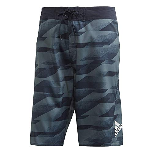 "adidas Herren OLY3 TECH SH KL Schwimm-Slips, Blau, 36"""