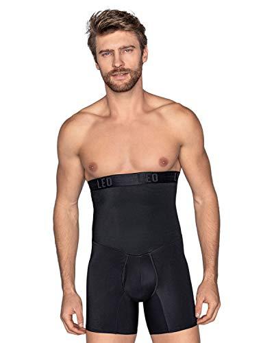 LEO Faja pantalón Reductor en Abdomen y Corrector Postura Espalda para Hombre