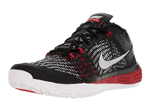 Nike Men's Lunar Caldra Running Shoe (6 D(M) US, Black/White/Cl Grey/Unvrysty Rd)