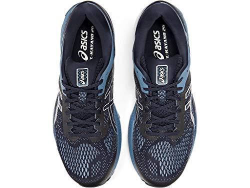 ASICS Men's Gel-Kayano 26 (2E) Running Shoes, 10W, Midnight/Grey Floss 4