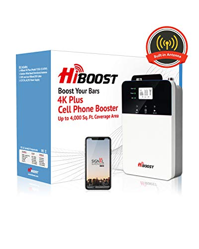 HiBoost Cell Phone Signal Booster for Home Review