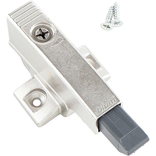 BLUM Blumotion Anschlagdämpfer mit Kreuzmontagplatte 33 mm für Mittelband, 1 Stück, 105031775