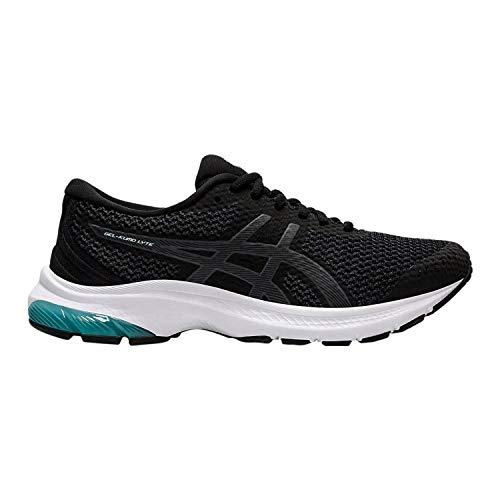 ASICS Womens Gel-Kumo Lyte MX Running Shoe, Black/Carrier Grey, Size 7.5