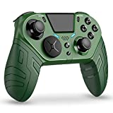 Controller for Wireless PS4 Controller, Wired Custom Controllers for Playstation 4/Pro/Slim, Dual Vibration Shock for Ps4 Remote Control
