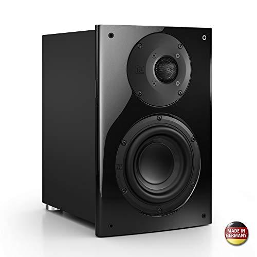Nubert nuVero 30 Dipollautsprecher   Lautsprecher für Heimkino & HiFi   Musikgenuss auf höchstem Niveau   passive Surroundbox mit 2 Wege Technik Made in Germany   Kompaktlautsprecher Schwarz   1 Stück