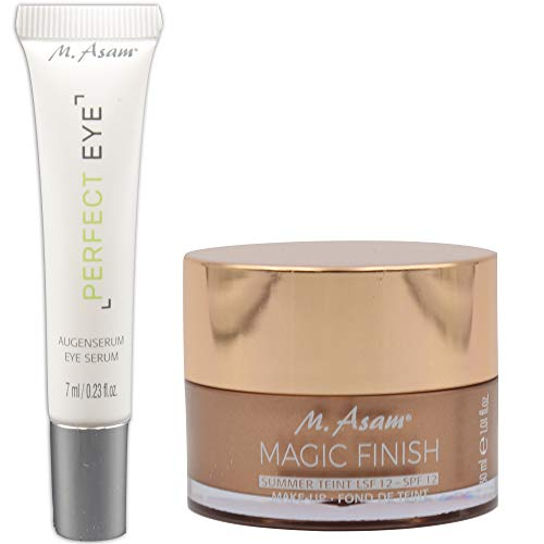 M. Asam® Magic Finish Summer Teint LSF 12 (30ml) + Perfect Eye Augenserum - 7ml